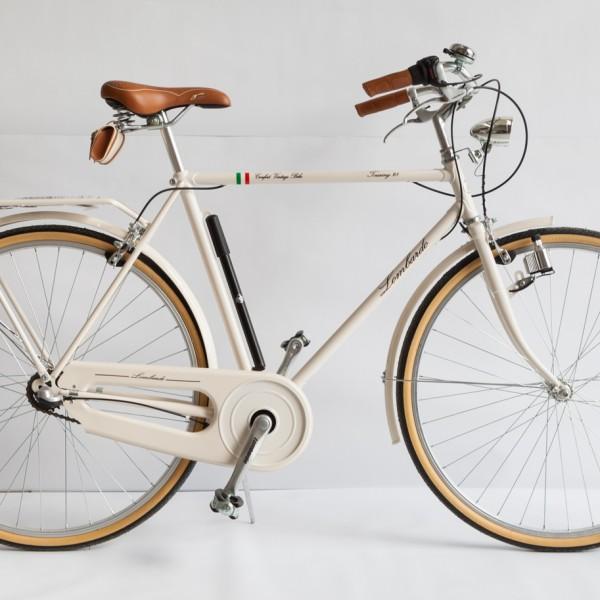 Bici Lombardo Vintage Touring 28 Uomo Colore Bordeaux
